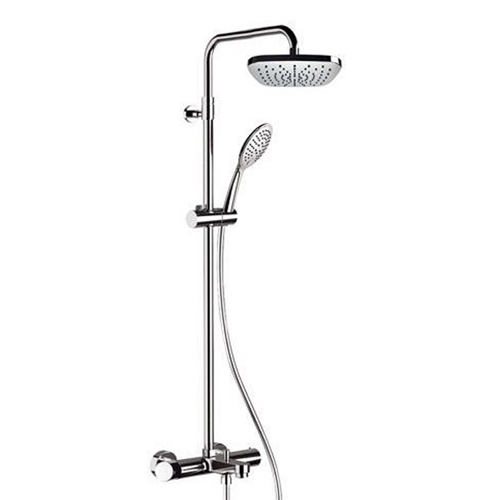 Single lever bathtub mixer with wellness shower combination shiny chrome<br>AN: FU636DAAD20