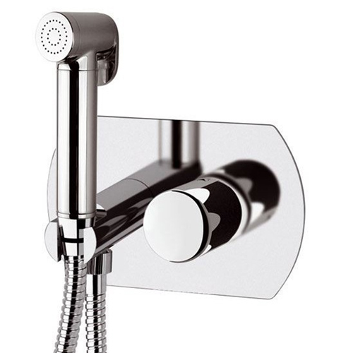Built-in single lever mixer with shut-off shower shiny chrome<br>AN: FU6424DCCR