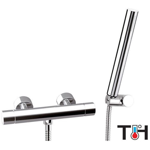 Thermostatic shower mixer with shower set chrome,<br> AN: ST20611A