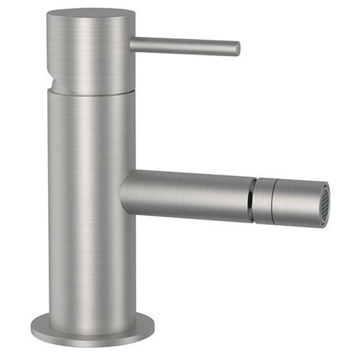 Single lever bidet mixer entirely produced in stainless steel<br>AN: SSTX604BN