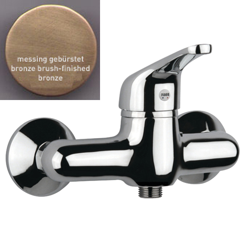 Single lever shower mixer bronze brush-finished,<br>AN: 39ZZ1200