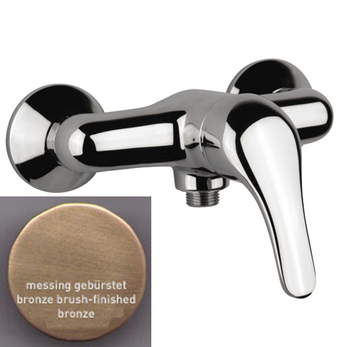 Single lever shower mixer bronze brush-finished,<br>AN: 39ZZ1230