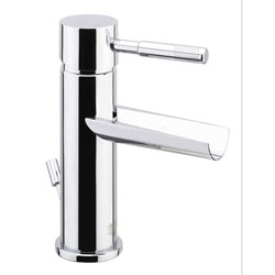 Cascade single lever washbasin mixer chrome with pop-up waste, <br>AN: 44CR5262