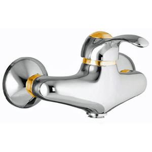 Single lever shower mixer chrome/gold,<br> AN: 47CO5120