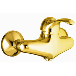 Single lever shower mixer gold 24 Karat,<br> AN: 47OO5120