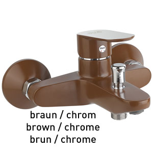 Single lever bathtub mixer brown / chrome, <br>AN: 81MX8152