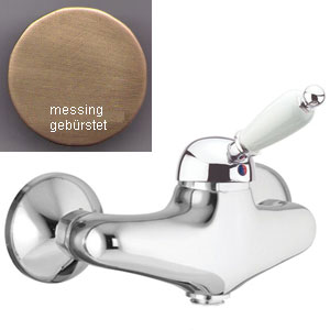 Single lever shower mixer bronze brushed-finished,<br> AN: 83ZZ5120