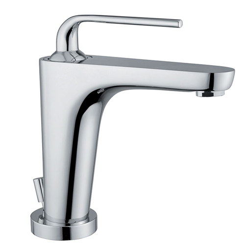 Single lever washbasin mixer chrome with pop-up waste, <br>AN: 87CR5515