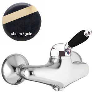 Single lever shower mixer chrome/gold,<br> AN: 89CO5120