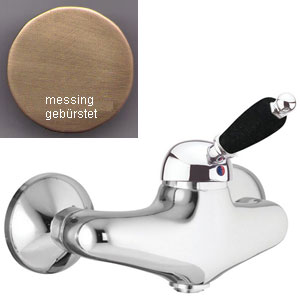 Single lever shower mixer bronze brushed-finished,<br> AN: 89ZZ5120