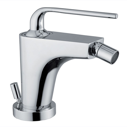 Single lever bidet mixer chrome with pop-up waste, <br>AN: 87CR5535