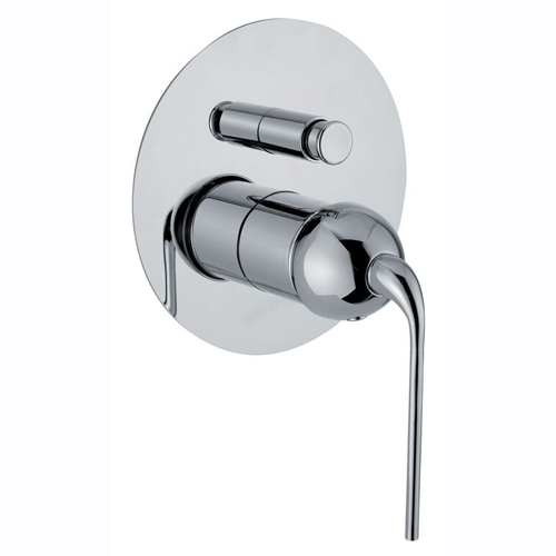 Single lever built-in mixer chrome with diverter for shower or bath,<br>AN: 87CR7506