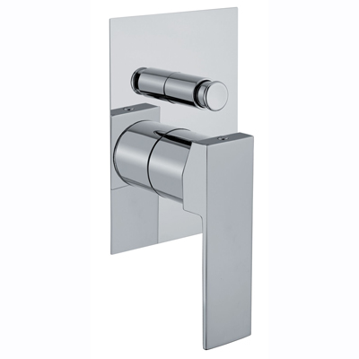 Single lever built-in mixer chrome with diverter for shower or bath,<br>AN: 100CR7517
