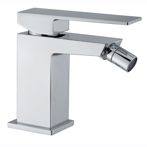 Single lever bidet mixer chrome with up and down pop-up waste, <br>AN: PE840101015
