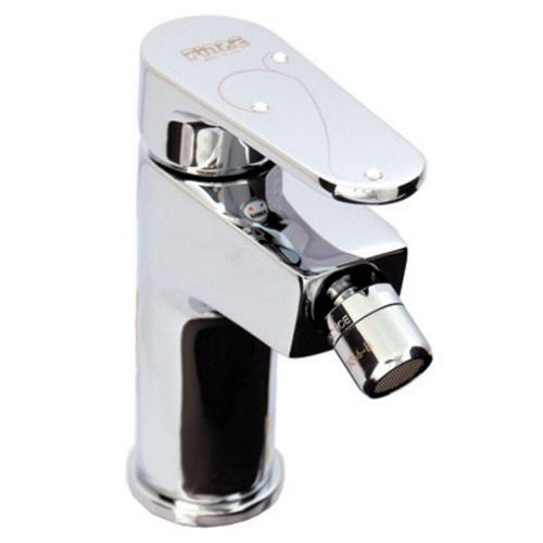 Single lever bidet mixer chrome, handle with Swarovski Crystals and pop-up waste,<br>AN: 78CR6530
