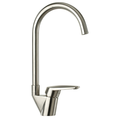 Stainless steel single lever sink mixer,<br>AN: 304T42