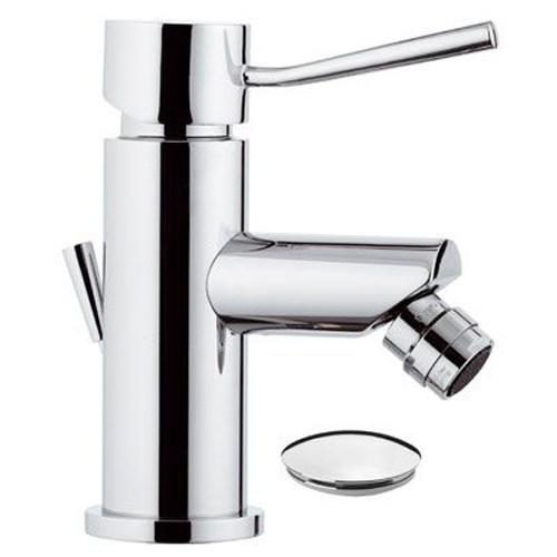 Single lever bidet mixer chrome with pop-up waste,<br>AN: N20