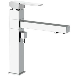 Square single lever sink mixer with drinking water connection chrome, <br>AN: Q42U