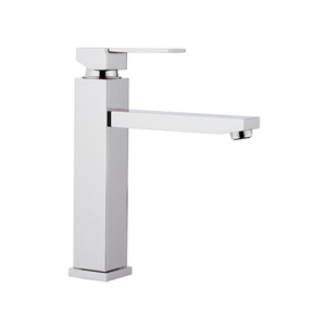 Square single lever sink mixer chrome, <br>AN: Q40