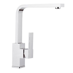 Square single lever sink mixer chrome, <br>AN: Q42U
