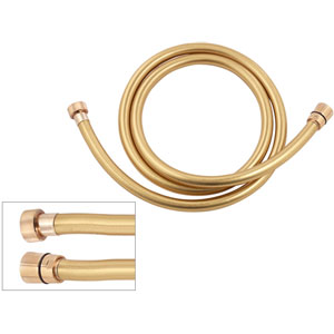 Shower hose gold, 150 cm<br>AN: 332CNDO150