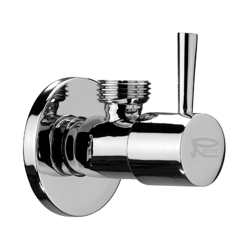 Cylindrical wall elbow chrome,<br>AN: 128L1212