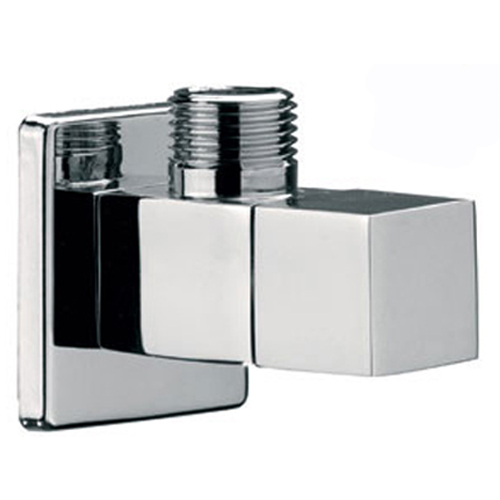 Square wall elbow chrome,<br>AN: 128S1212