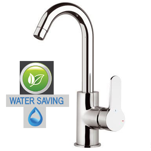 Single lever water saving sink mixer chrome, <br>AN: WE72CLT8
