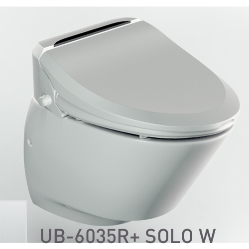 SET: Electronic toilet seat UB-6035R Comfort + Wall-hung WC SOLO W