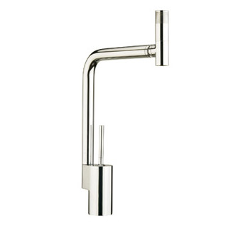Sink mixer with joystick mixing technique and 360° swivel spout chrome,<br>AN: TS920301015