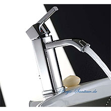 Single lever washbasin mixer chrome with pop-up waste,<br>AN: AZ830101015
