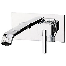 Built-in single lever mixer with spout chrome, handle with Swarovski Crystals,<br>AN: AS830606015