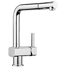 Single lever sink mixer chrome with pull-out spray and swivel spout,<br>AN: AZ940301015