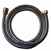 Metal shower hose chrome / gold 150 cm,<br>AN: AC0442017