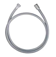 Shower hose metalic-grey and chrome 150 cm<br>AN: AC0443015