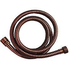 Metal shower hose copper brush-finished 150 cm,<br>AN: 333CN150VR