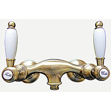Nostalgic 2-handle shower mixer bronze brush-finished,<br>AN: DO760102065
