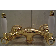 Nostalgic 2-handle shower mixer gold 24 Karat,<br>AN: DO760102010