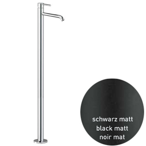 Extra high single lever floor mounted mixer black matt,<br>AN: EL832101560