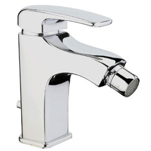 Single lever bidet mixer chrome with pop-up waste,<br>AN: KI840101015