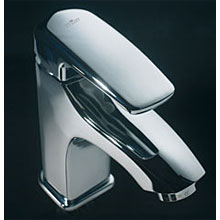 Single lever washbasin mixer chrome with pop-up waste,<br>AN: KI830101015
