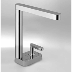 Single lever washbasin mixer chrome with up and down pop-up waste,<br>AN: LV830101015