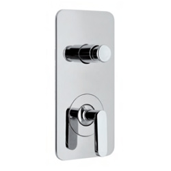 Single lever built-in mixer chrome with diverter for shower or bath,<br>AN: LV860101015