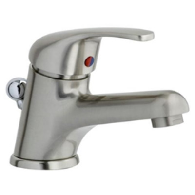 Single lever washbasin mixer brushed nickel with pop-up waste,<br>AN: MA830101345