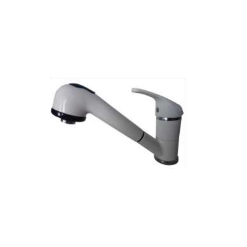 Single lever sink mixer with shower white / chrome,<br>AN: MA940101026