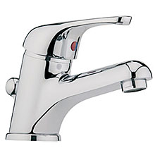 Single lever washbasin mixer chrome with pop-up waste,<br>AN: MA830101015