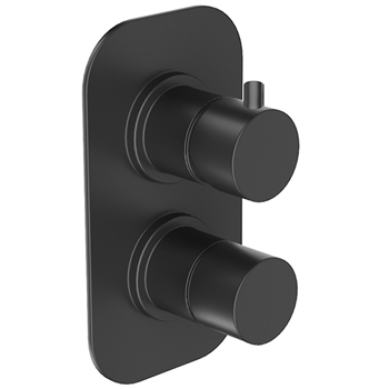 Built-in single lever black matt with diverter,<br>AN: NB860101560