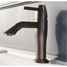 Single lever washbasin mixer graphite with up and down pop-up waste,<br> AN: OE830101985