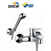 Single lever bathtub mixer chrome with shower set,<br> AN: SE850101015