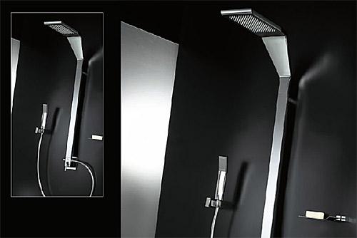 Duscharmatur Unterputz : Exclusive Designe Unterputz-Duscharmatur mit Kombi-Duschs?ule